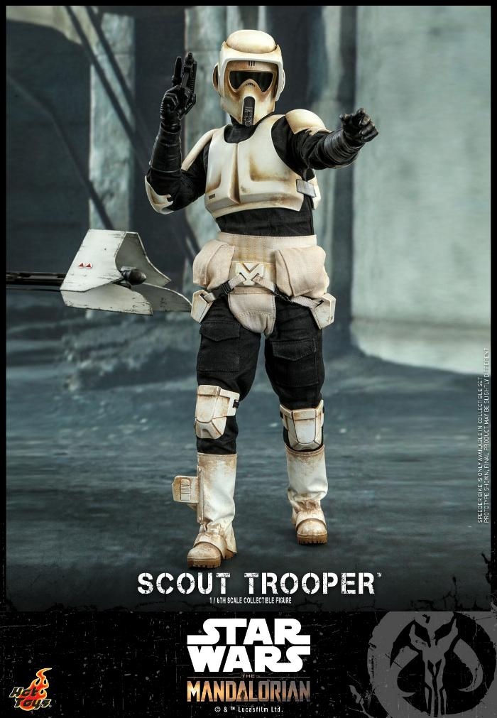 Scout Trooper Collectible Fig - 1/6 - Mandalorian Hot Toys 0425