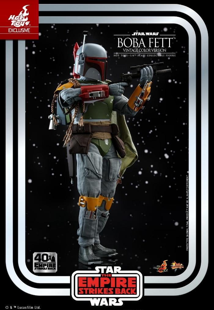 Boba Fett - 1/6th scale (Vintage Color Version) Hot Toys 0428