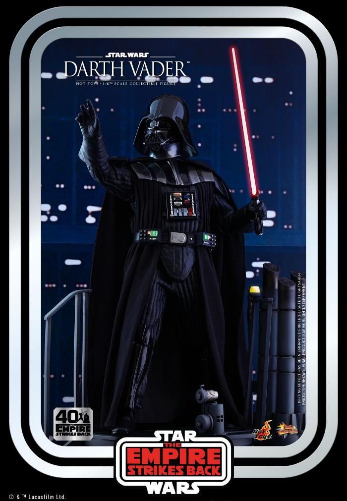 Darth Vader The Empire Strikes Back - 1/6th scale Hot Toys  0430