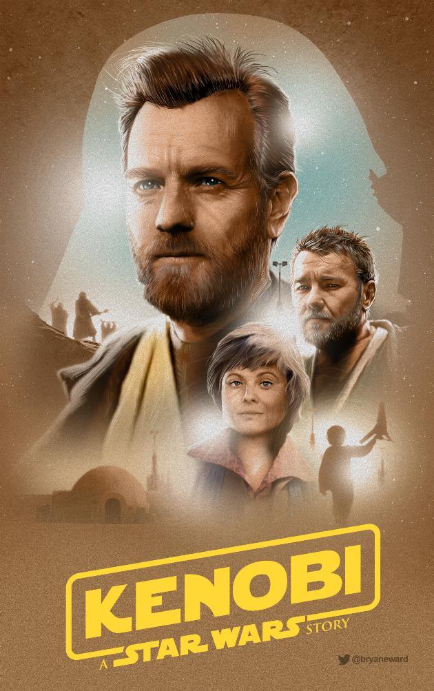 Teaser Trailer Poster Video FanMade Star Wars Kenobi 0433