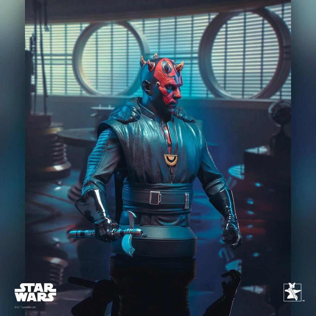 Dark Maul Solo A StarWars Story Mini Bust - Gentle Giant 0436