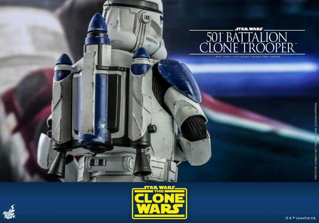 501st Battalion Clone Trooper - The Clone Wars - Hot Toys 0440