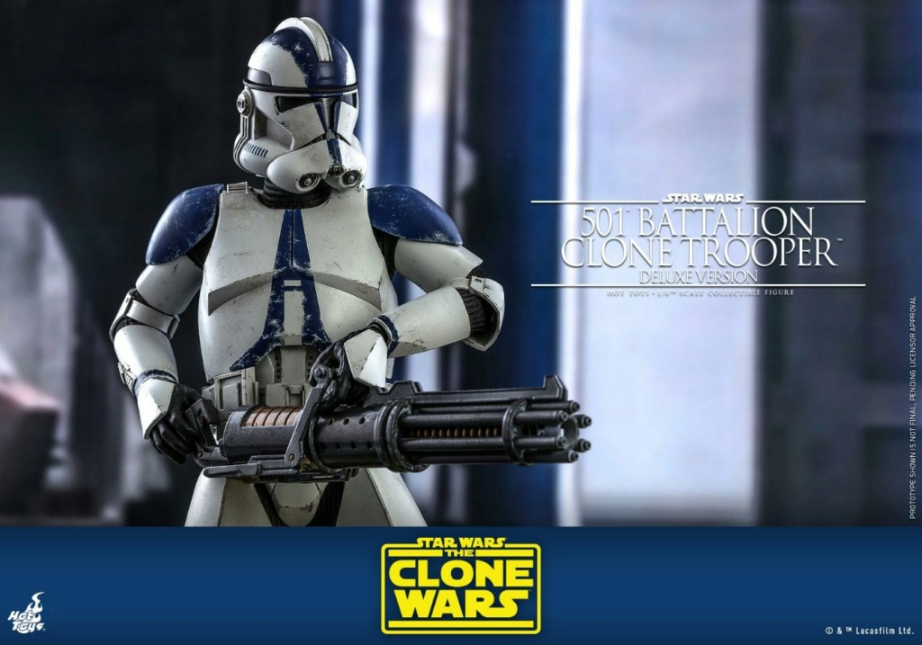 501st Battalion Clone Trooper (Deluxe Version) - Hot Toys  0441
