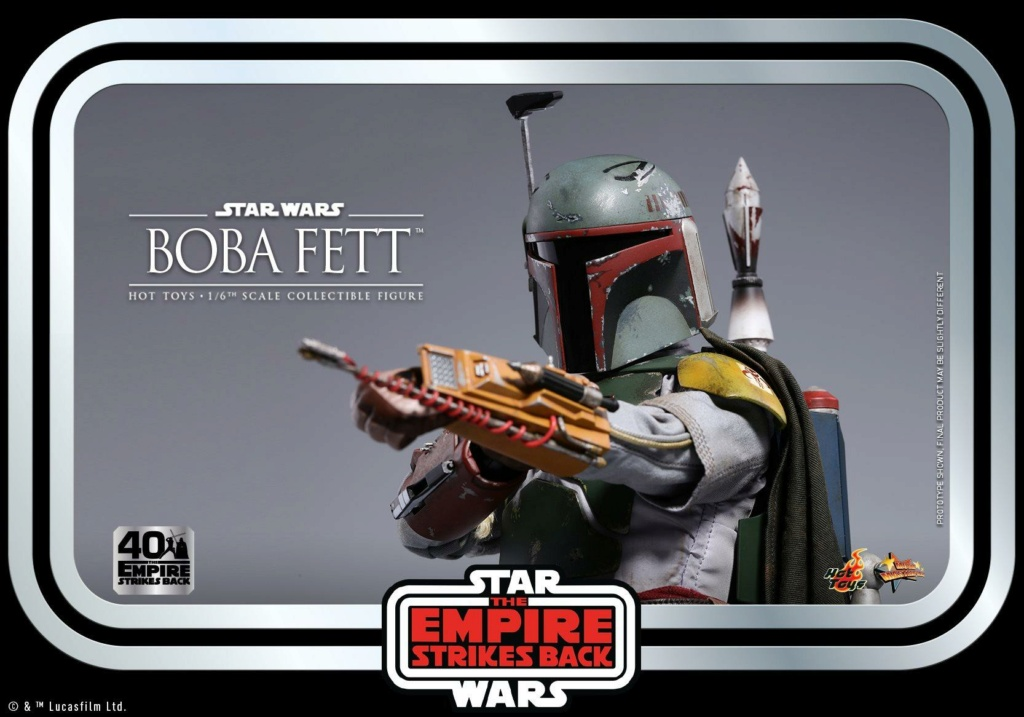 Boba Fett 1/6th scale Figure ESB 40th Anniv Hot Toys 0446