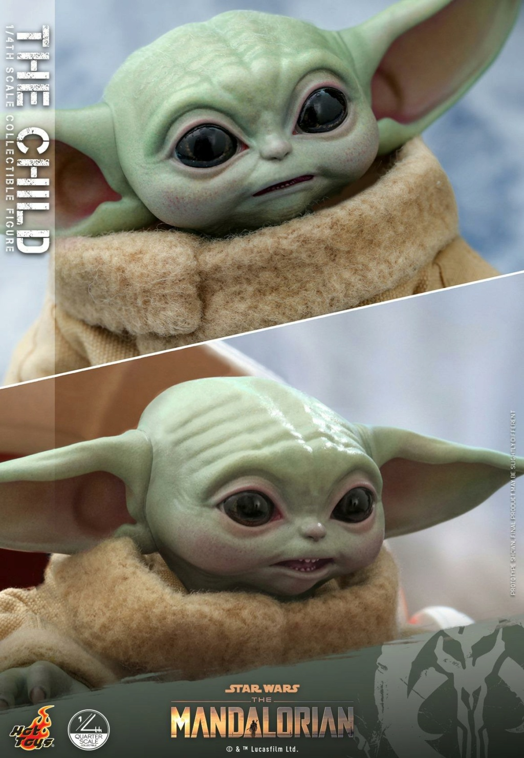The Child Collectible Figure - 1/4th scale - Hot Toys 0450