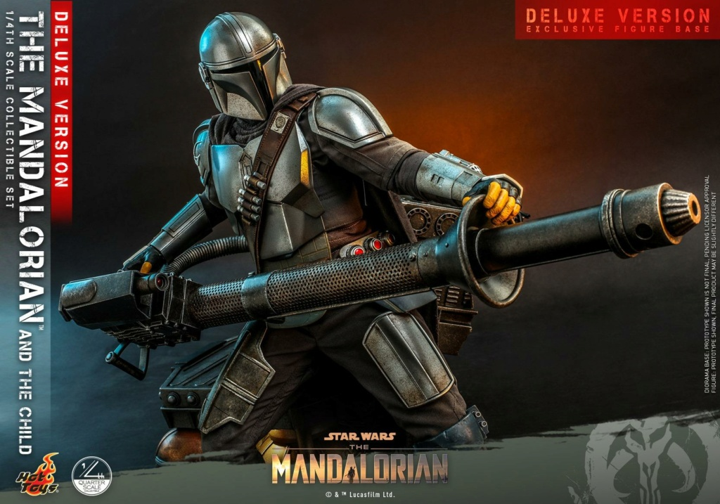 The Mandalorian & The Child Set (Deluxe) 1/4th - Hot Toys 0451
