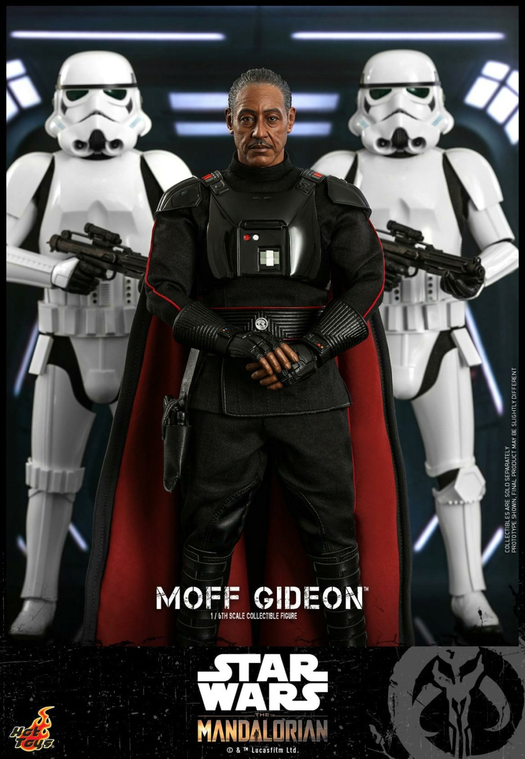 Imperial Moff Gideon - 1/6 Scale Figure - Hot Toys 0452