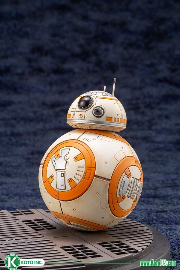 Star Wars BB-8 & D-0 ARTFX Statue - Kotobukiya 0514