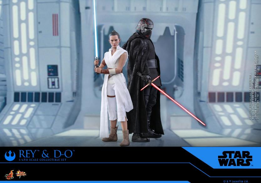 Rey & D-O Collectible Set - The Rise of Skywalker - Hot Toys 0518