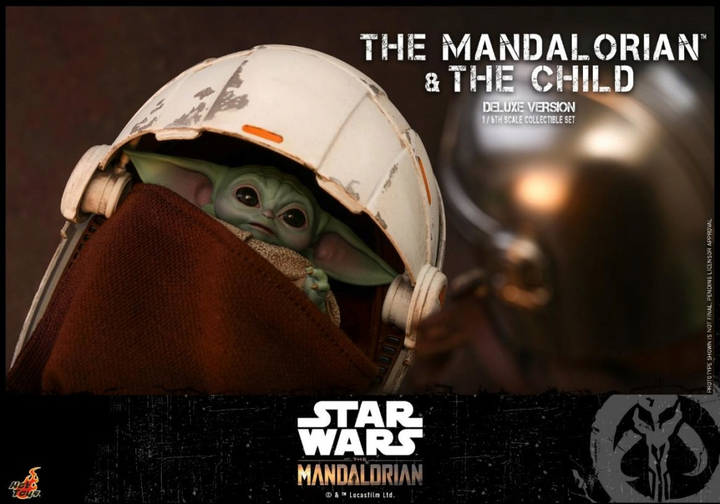 The Mandalorian & The Child Set - 1:6 - Hot Toys Star Wars 0520