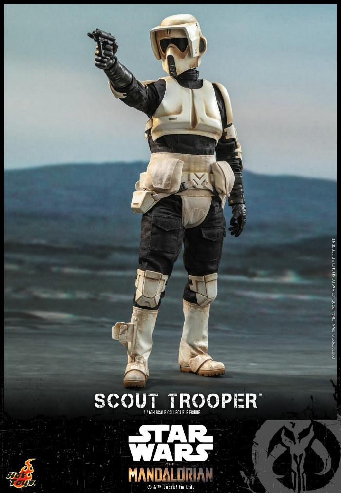 Scout Trooper Collectible Fig - 1/6 - Mandalorian Hot Toys 0523