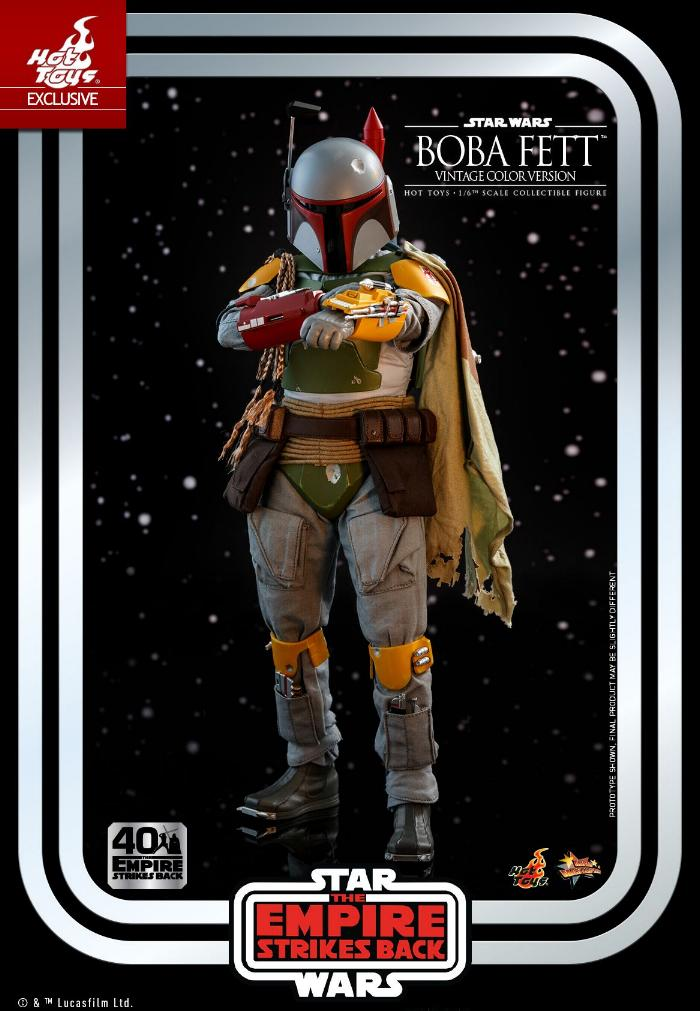 Boba Fett - 1/6th scale (Vintage Color Version) Hot Toys 0525