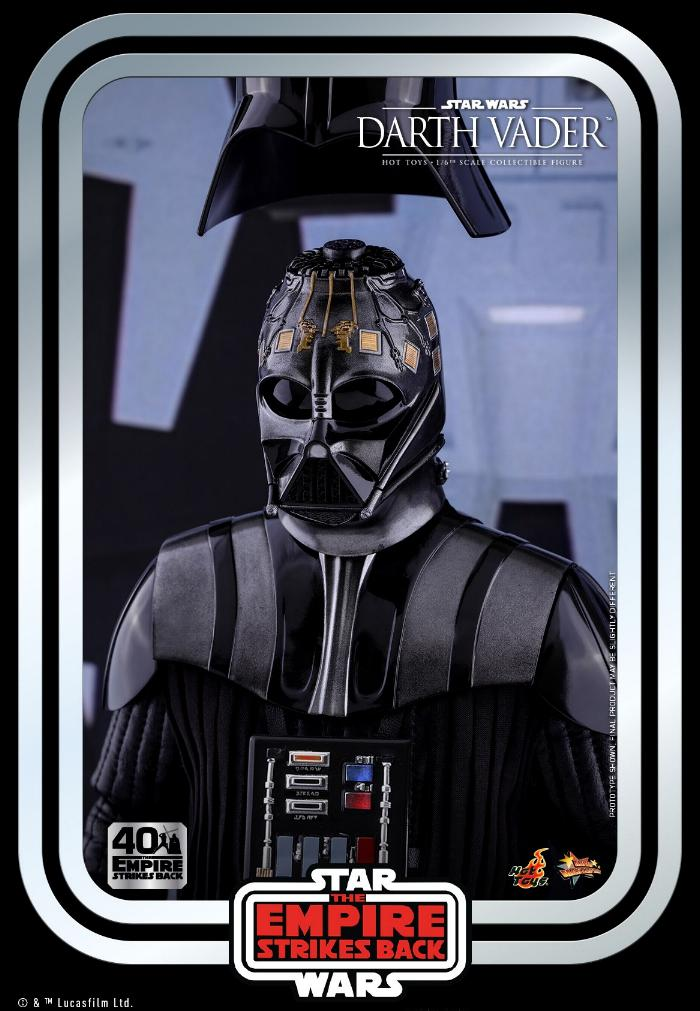 Darth Vader The Empire Strikes Back - 1/6th scale Hot Toys  0527