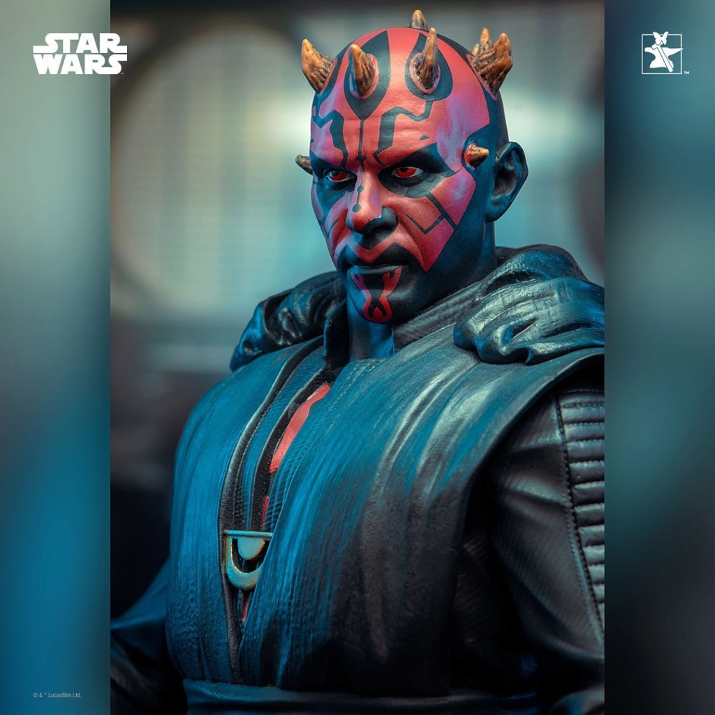 Dark Maul Solo A StarWars Story Mini Bust - Gentle Giant 0532