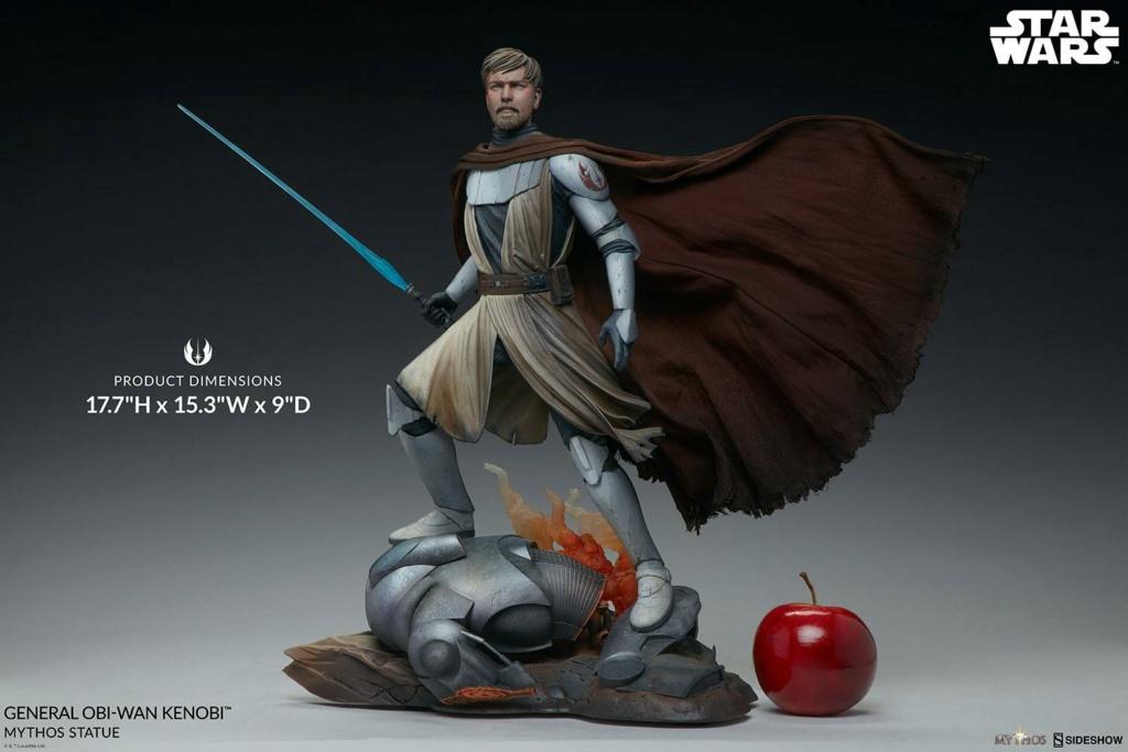 General Obi-Wan Kenobi Mythos Statue - Sideshow 0539