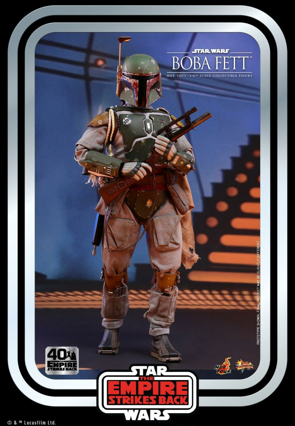 Boba Fett 1/6th scale Figure ESB 40th Anniv Hot Toys 0542