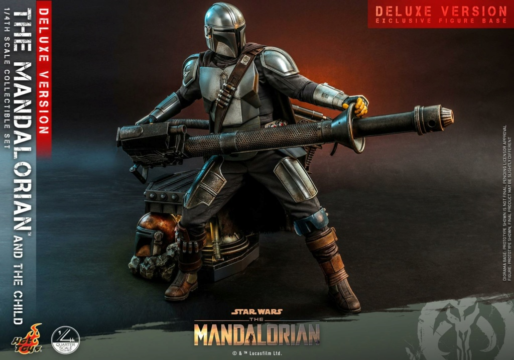 The Mandalorian & The Child Set (Deluxe) 1/4th - Hot Toys 0547