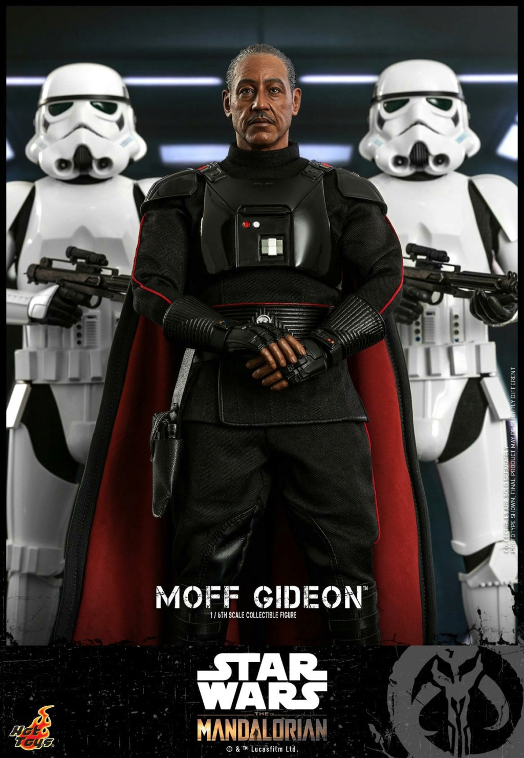 Imperial Moff Gideon - 1/6 Scale Figure - Hot Toys 0548