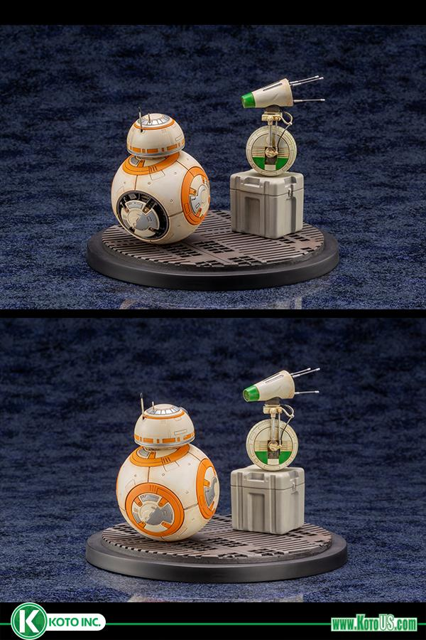 Star Wars BB-8 & D-0 ARTFX Statue - Kotobukiya 0614