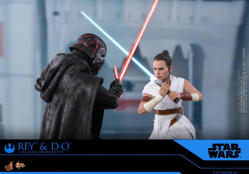 Rey & D-O Collectible Set - The Rise of Skywalker - Hot Toys 0618