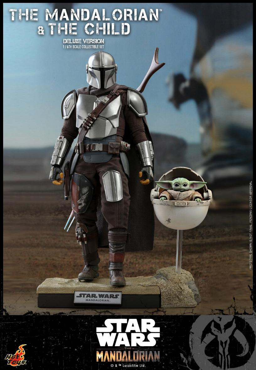 The Mandalorian & The Child Set - 1:6 - Hot Toys Star Wars 0619