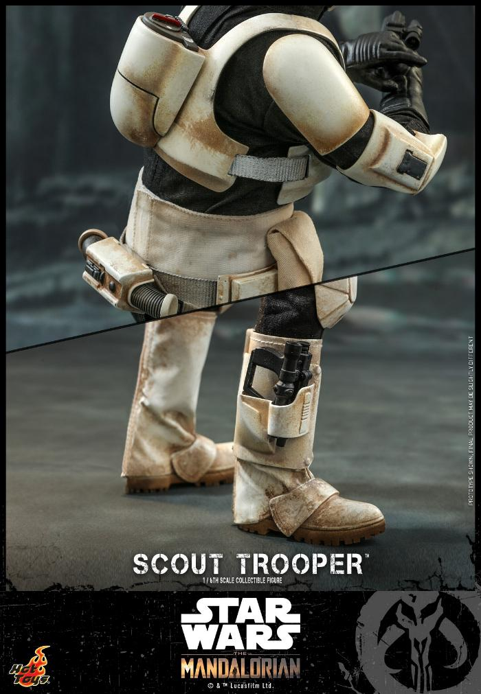 Scout Trooper Collectible Fig - 1/6 - Mandalorian Hot Toys 0621