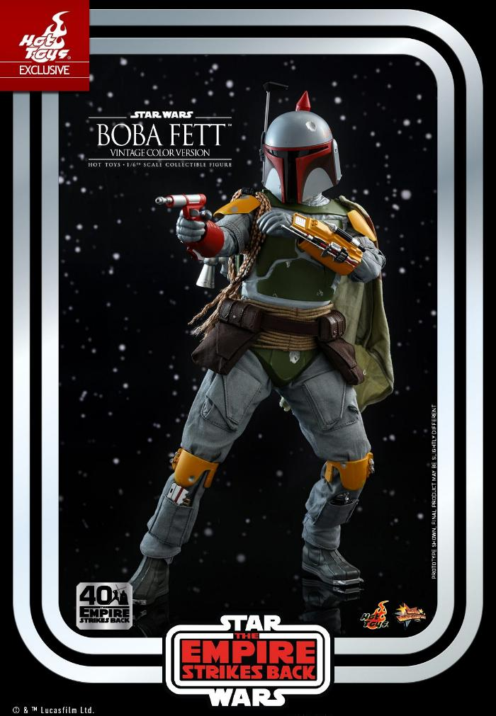 Boba Fett - 1/6th scale (Vintage Color Version) Hot Toys 0623