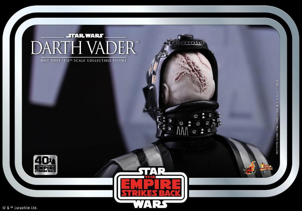 Darth Vader The Empire Strikes Back - 1/6th scale Hot Toys  0625