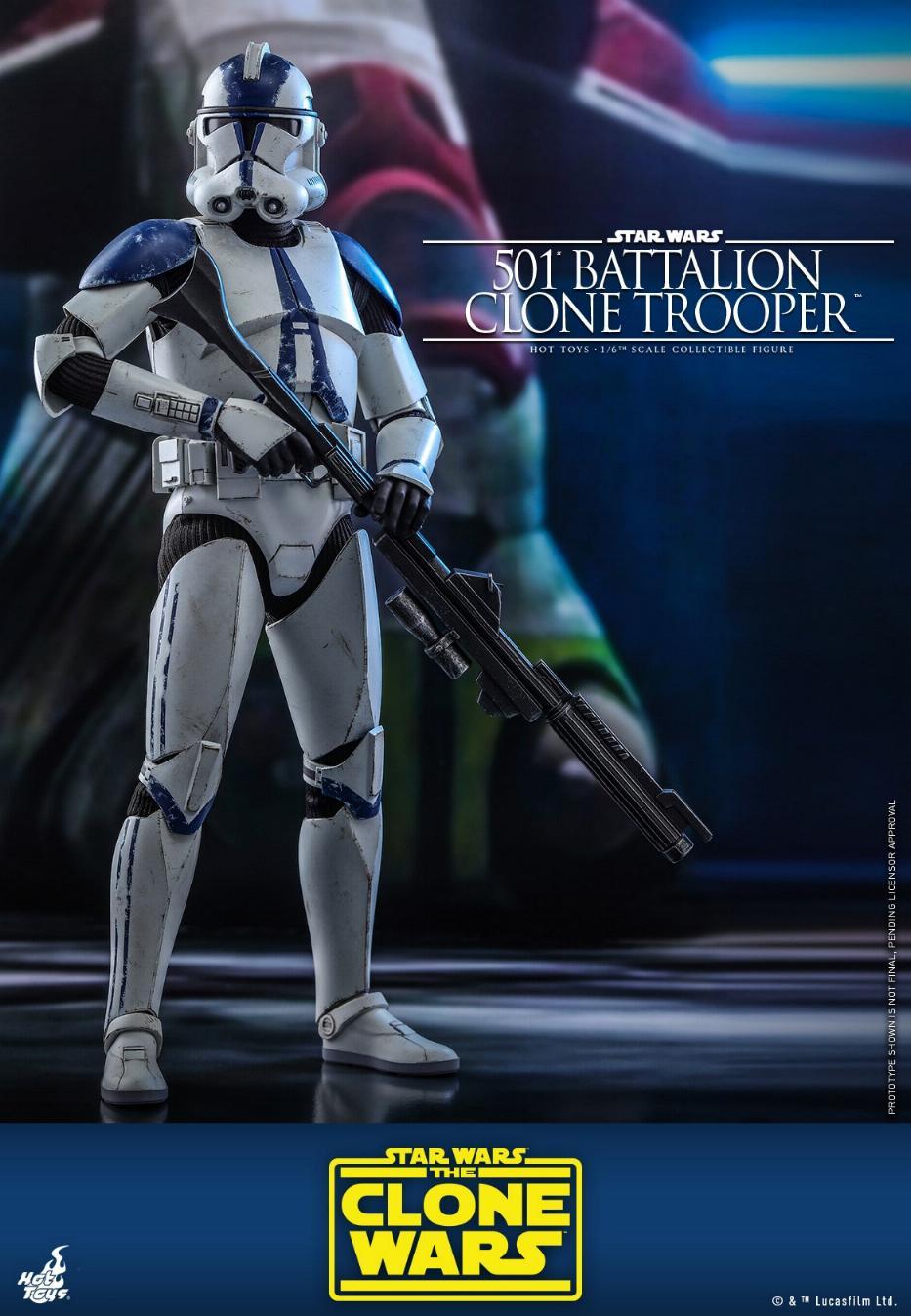 501st Battalion Clone Trooper - The Clone Wars - Hot Toys 0634