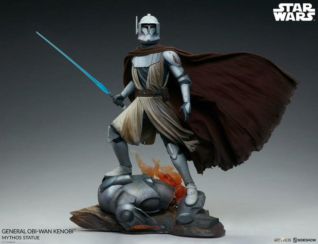 General Obi-Wan Kenobi Mythos Statue - Sideshow 0637