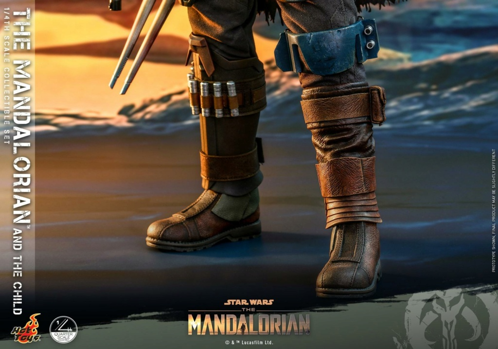 The Mandalorian & The Child Collectible Set - 1/4th Hot Toys 0641