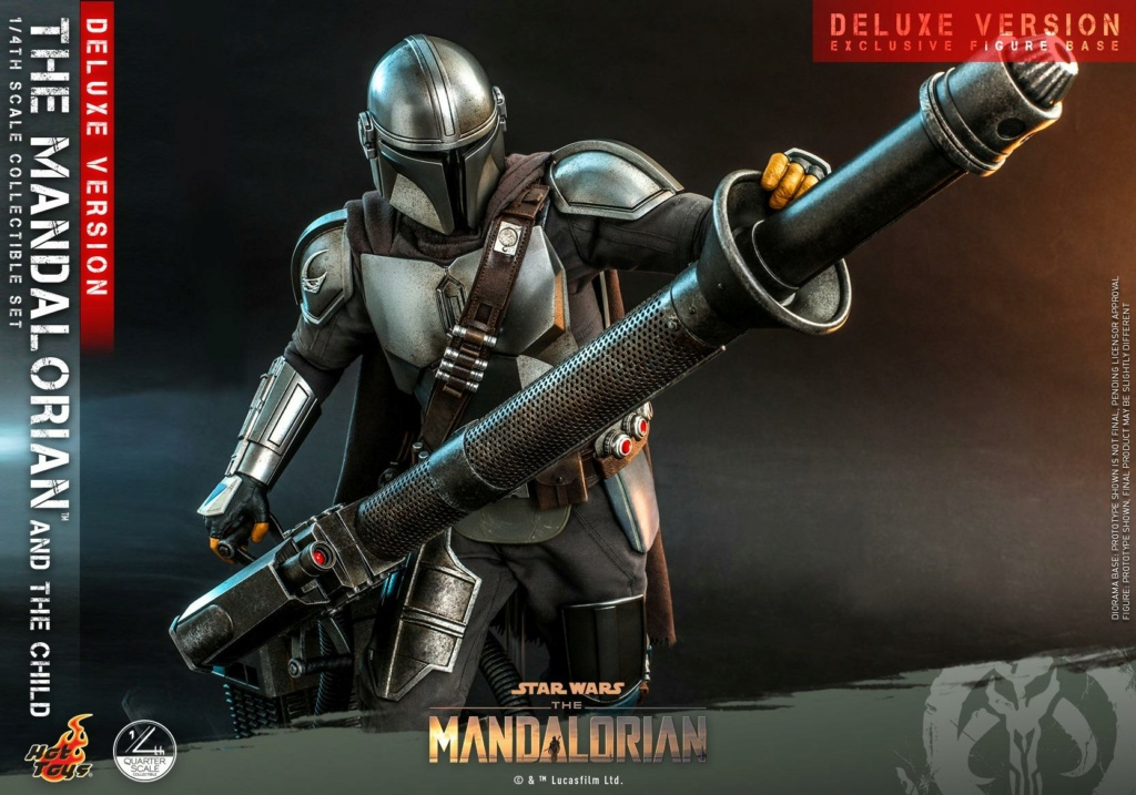 The Mandalorian & The Child Set (Deluxe) 1/4th - Hot Toys 0643