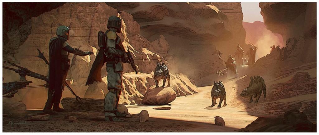 Star Wars The Mandalorian - Les Concepts Art de la saison 2 06_the10