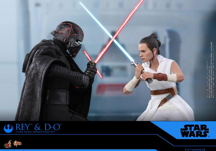 Rey & D-O Collectible Set - The Rise of Skywalker - Hot Toys 0714