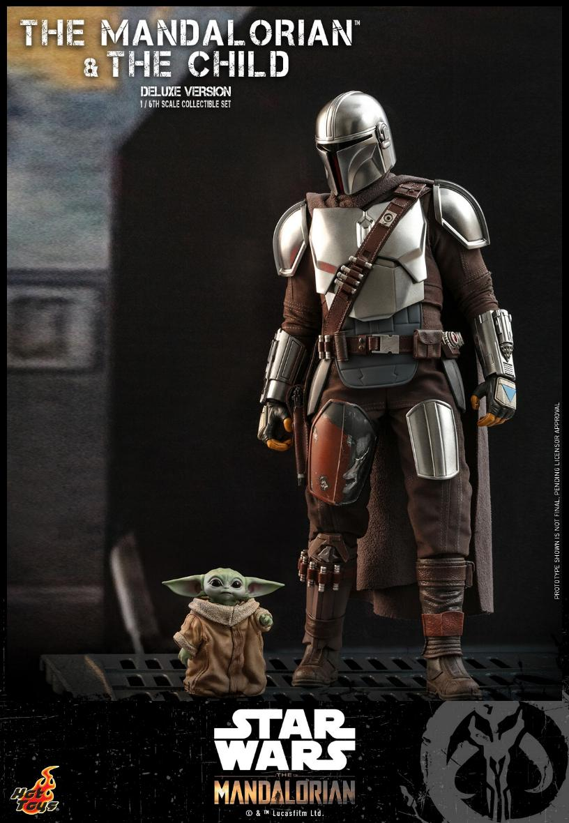 The Mandalorian & The Child Set - 1:6 - Hot Toys Star Wars 0715