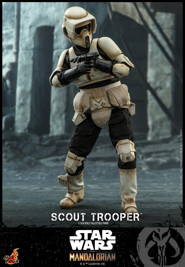 Scout Trooper Collectible Fig - 1/6 - Mandalorian Hot Toys 0717
