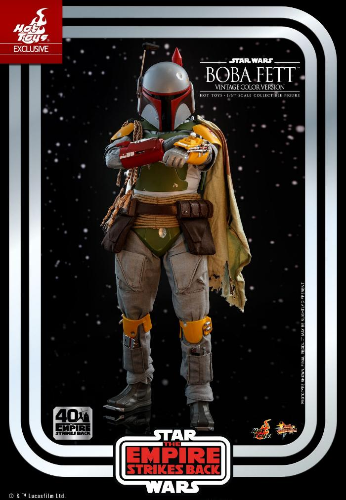 Boba Fett - 1/6th scale (Vintage Color Version) Hot Toys 0719