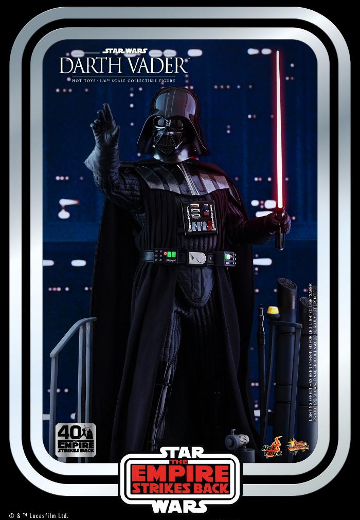 Darth Vader The Empire Strikes Back - 1/6th scale Hot Toys  0721