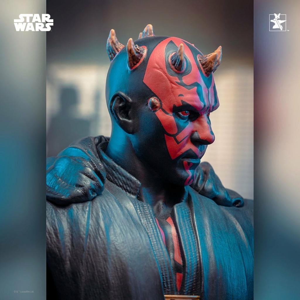 Dark Maul Solo A StarWars Story Mini Bust - Gentle Giant 0725
