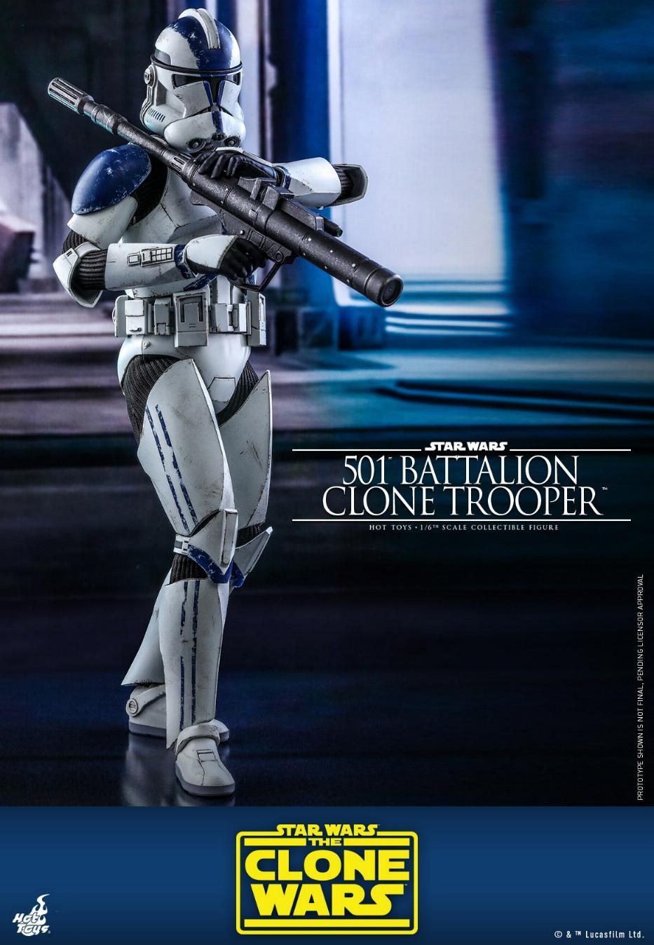 501st Battalion Clone Trooper - The Clone Wars - Hot Toys 0728