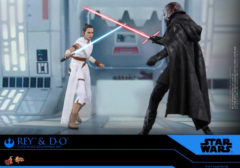 Rey & D-O Collectible Set - The Rise of Skywalker - Hot Toys 0813