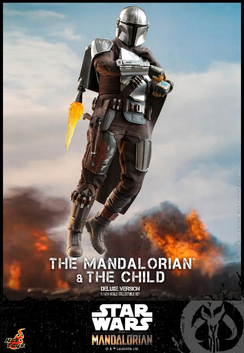 The Mandalorian & The Child Set - 1:6 - Hot Toys Star Wars 0814
