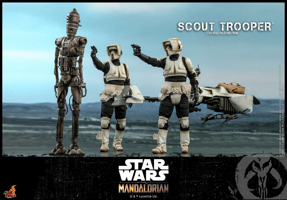 Scout Trooper Collectible Fig - 1/6 - Mandalorian Hot Toys 0816