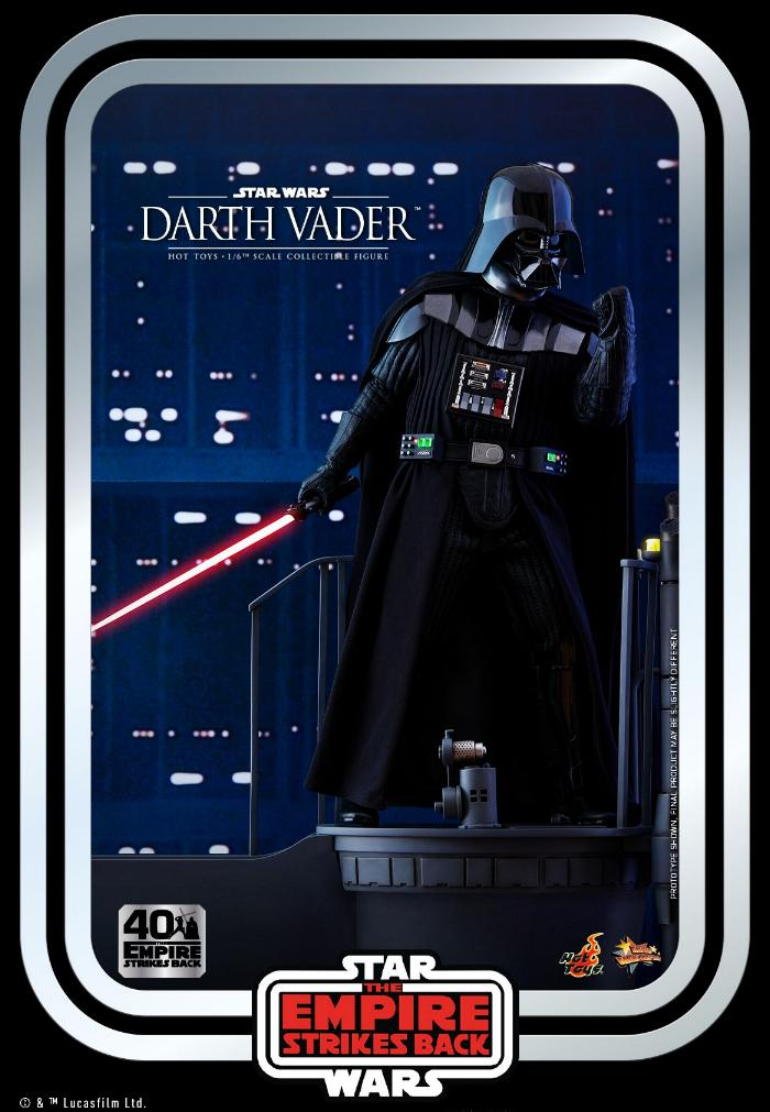 Darth Vader The Empire Strikes Back - 1/6th scale Hot Toys  0820