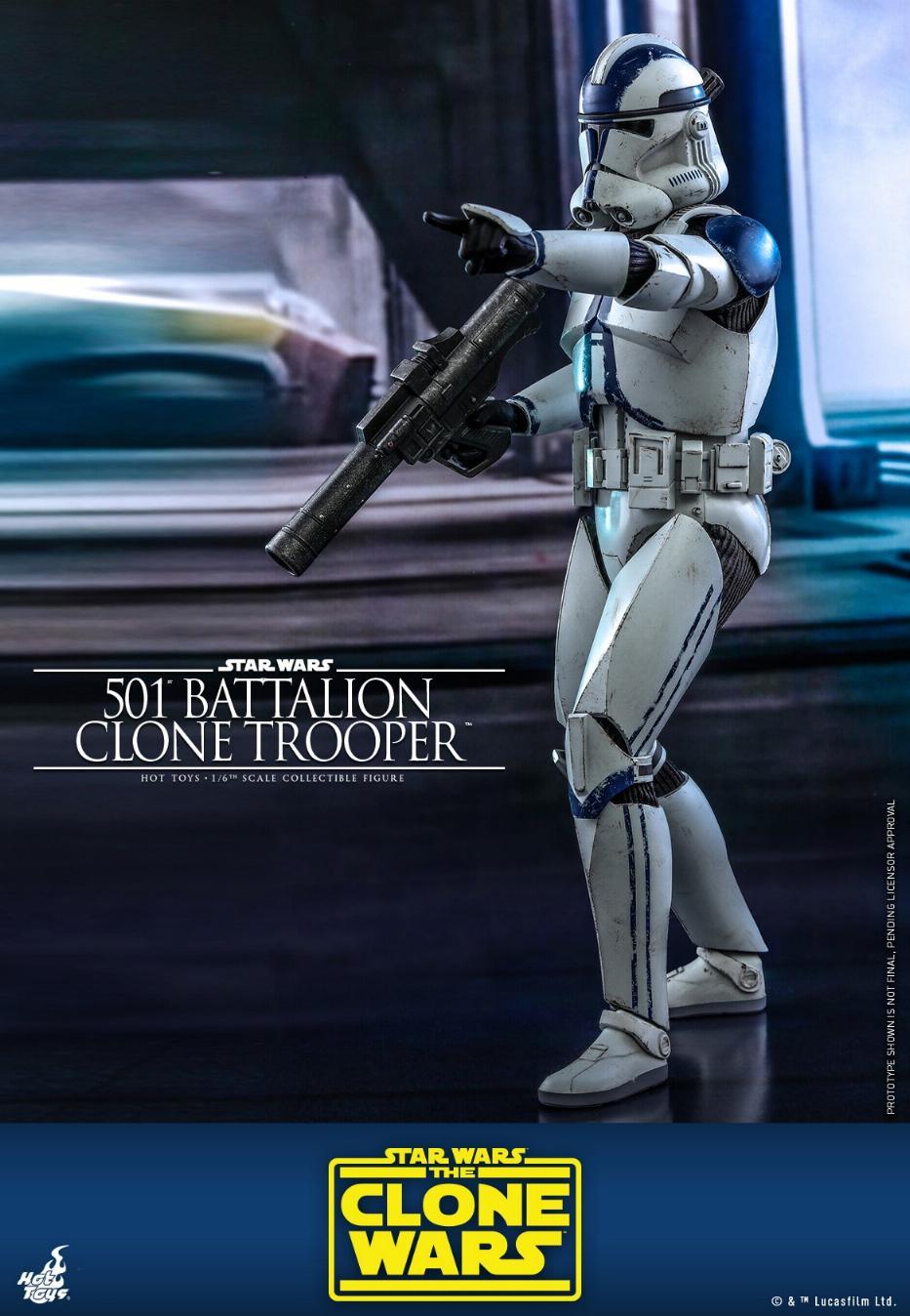 501st Battalion Clone Trooper - The Clone Wars - Hot Toys 0824