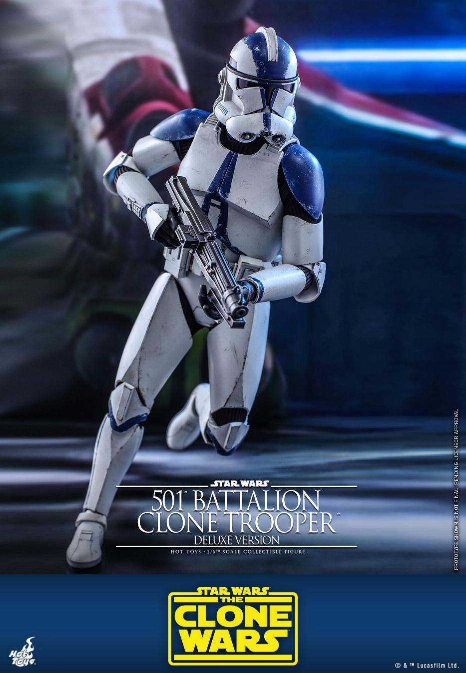 501st Battalion Clone Trooper (Deluxe Version) - Hot Toys  0825