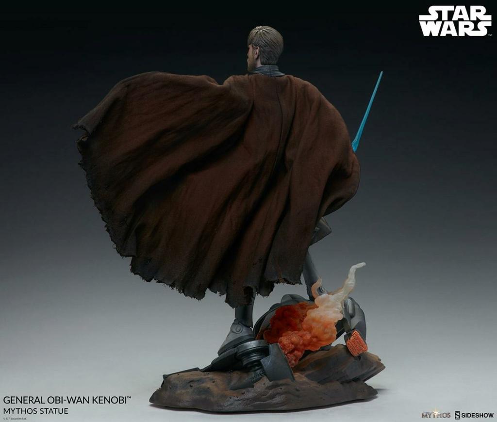 General Obi-Wan Kenobi Mythos Statue - Sideshow 0827