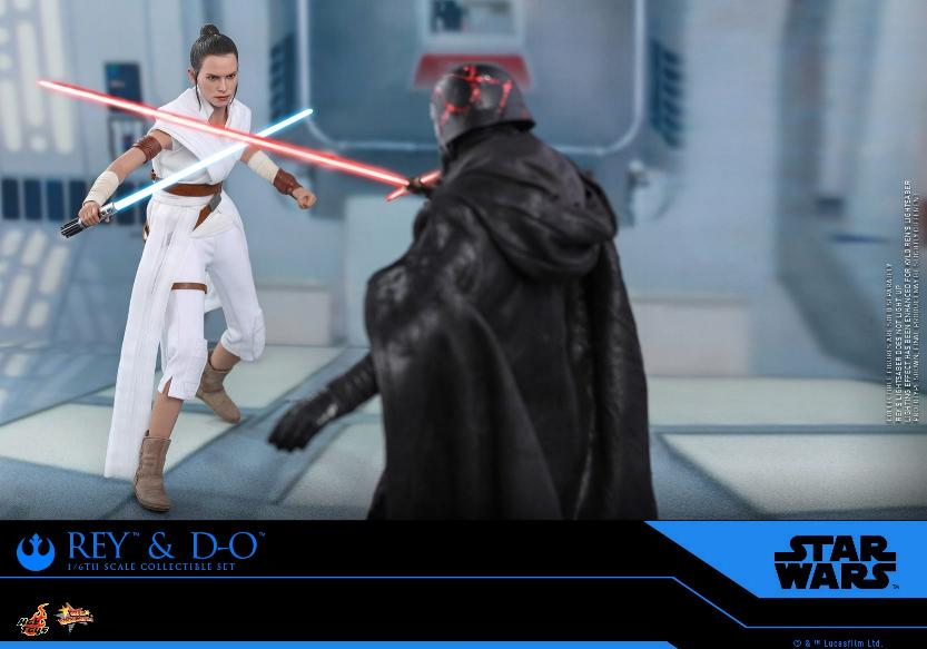 Rey & D-O Collectible Set - The Rise of Skywalker - Hot Toys 0913