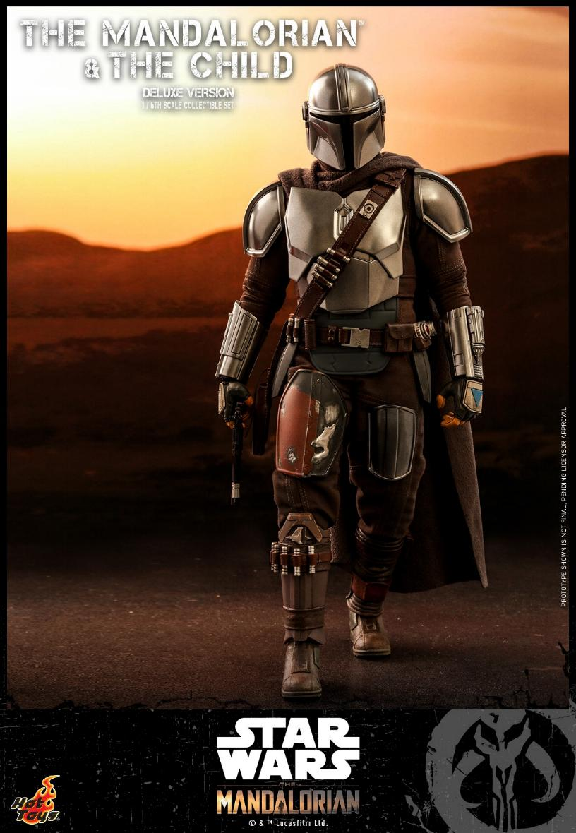 The Mandalorian & The Child Set - 1:6 - Hot Toys Star Wars 0914