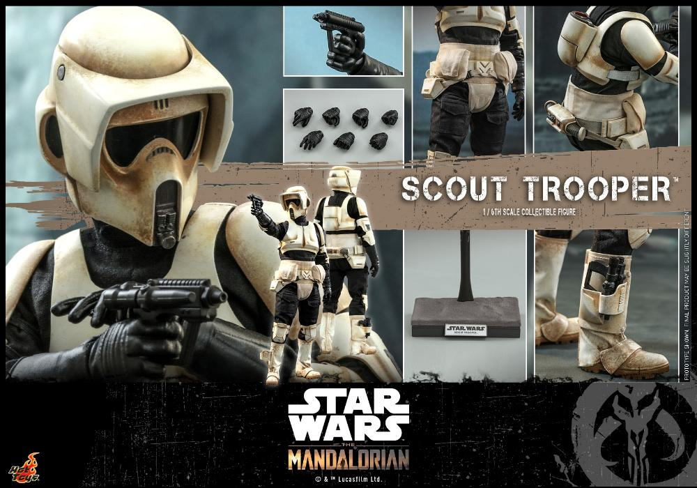 Scout Trooper Collectible Fig - 1/6 - Mandalorian Hot Toys 0916